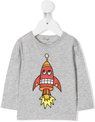 Stella McCartney rocket print T-shirt