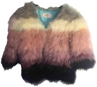 Urban Code Urbancode Pink Ostrich Jacket for Women