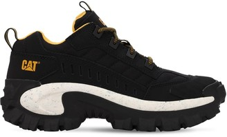 Caterpillar Intruder Nubuck & Nylon Sneakers