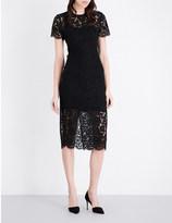 Diane von Furstenberg Carly floral-lace midi dress