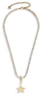 BaubleBar Celestial Star Pendant Necklace, 16
