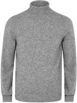 A.p.c. Jean Grey Roll-neck Camel Hair Jumper