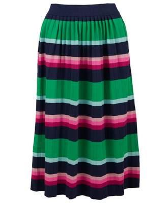Ted Baker Supernatural Striped Knitted Midi Skirt Colour: MULTI, Size:
