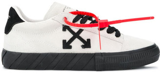 Off-White Vulcanized Leather Sneakers