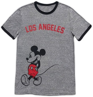 Disney Mickey Mouse Ringer T-Shirt for Adults Los Angeles
