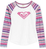 Roxy Back Country Graphic-Print T-Shirt, Little Girls (2-6X)