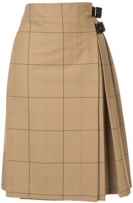 macgraw Commentary kilted skirt