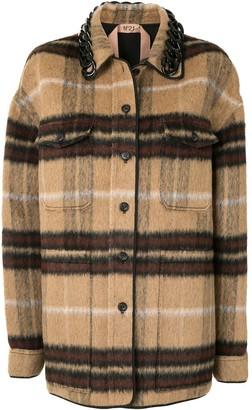 No.21 Brushed Check Jacket