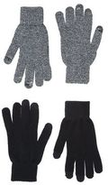 New Look 2 Pack Black Touch Screen Gloves