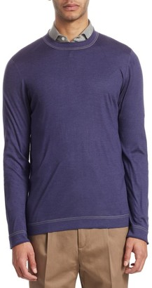 Brunello Cucinelli Cotton Crewneck Pullover