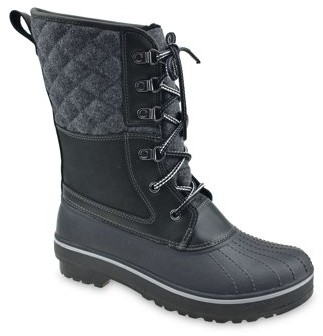 Time and Tru Lace Up Duck Boot (Women's)