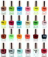 SXC Cosmetic 24 Holiday Time Collection Nail Lacquer Nail Polish, Professional Quality & Quick Dry, 15ml/0.5oz Each, Perfect Gift For Holiday