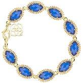 Kendra Scott Signature Jana Marquis Bracelet in Cobalt & Gold