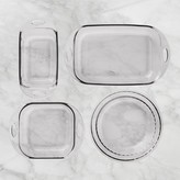 Williams-Sonoma Williams Sonoma Fire King 4-Piece Glass Bakeware Set