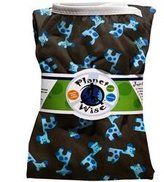 Planet Wise Diaper Pail Liner - Blue Giraffe by Planet Wise Inc.