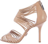 Michael Kors Strappy Leather Sandals