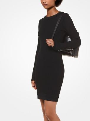 MICHAEL Michael Kors Textured Merino Wool Dress