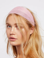 Free People Shimmer Gauze Headband