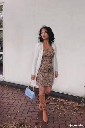 Forever 21 Cheetah Print Bodycon Mini Dress