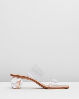 Cult Gaia Jila Flower Sandals