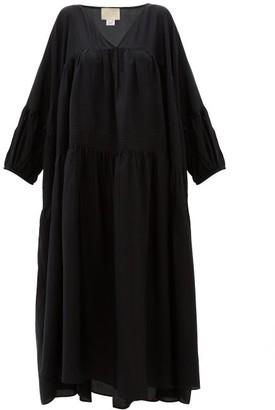 Anaak - Airi Silk Maxi Dress - Black