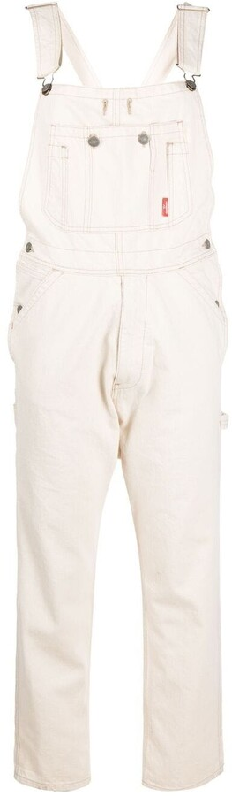 Thumbnail for your product : Denimist Slim-Fit Cotton Dungarees