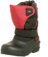 Tundra Quebec Boot (Toddler/Little Kid/Big Kid),Black/