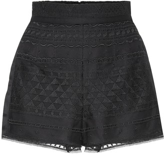 Philosophy di Lorenzo Serafini Lace shorts