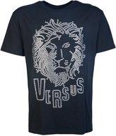 Versace Versus BU90104 Lion Stud Head T-Shirt M