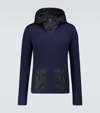 MONCLER GENIUS 1 MONCLER JW ANDERSON ribbed sweater