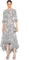 Zimmermann Empire Embroidered Dress