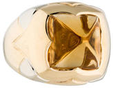 Bvlgari Citrine Piramide Ring