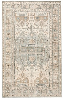 Pottery Barn Nicolette Hand Knotted Rug - Cool Multi