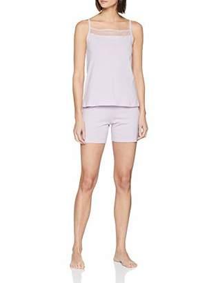 Lovable Women's Delicate Lilac Pyjama Set,12 (Size: Medium)