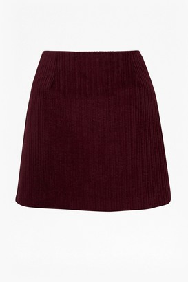 French Connection Cord Mini Skirt
