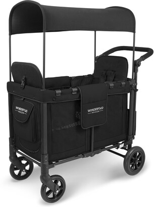 Wonderfold W2 Multifunction 2-Passenger Twin Stroller Wagon