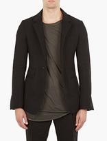 Haider Ackermann Black Cashmere-blend Blazer