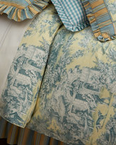 Legacy Full Lutece Cypress Toile Duvet Cover
