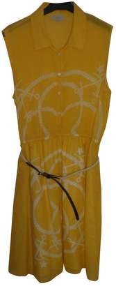 Gerard Darel Yellow Cotton Dress for Women