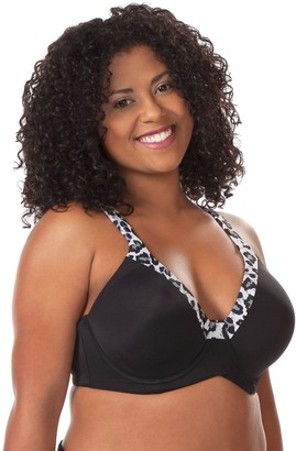 Leading Lady Women's Plus-Size Plus Size Luxe Body T-Shirt Bra with Underwire Support Bra