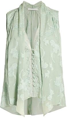 Jonathan Simkhai Renee Floral Lace Top