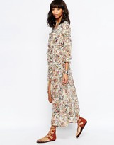 Brave Soul Deep V Floral Maxi Dress