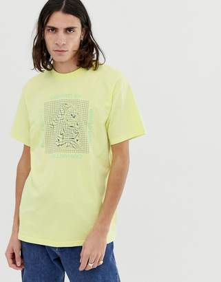 Carhartt Wip WIP Grid C short sleeve t-shirt in yellow