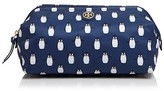 Tory Burch Large Printed Nylon Molded Cosmetic Case