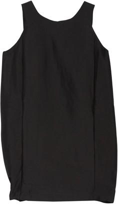 FRNCH Solid Sleeveless Shift Dress