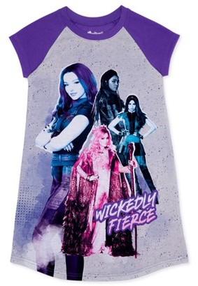 Descendants Girls 6-14 Super Soft Short Sleeve Pajama Nightgown