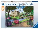 Ravensburger Visiting the Mansion 500pc Puzzle