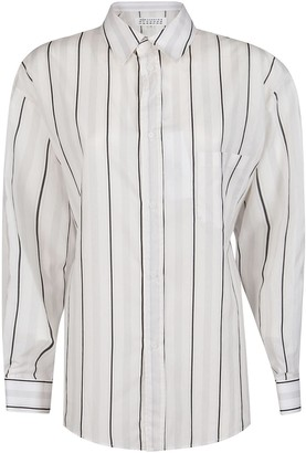 Maison Margiela Striped Relax Fit Shirt