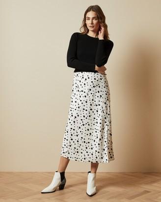 Ted Baker LAIYAH Mockable polka dot dress