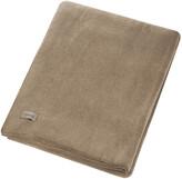 Thumbnail for your product : Zoeppritz since 1828 - Large Soft Fleece Blanket - Smoke